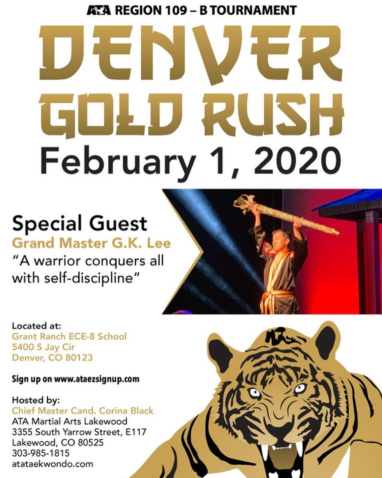 Denver Gold Rush Tournament Flyer